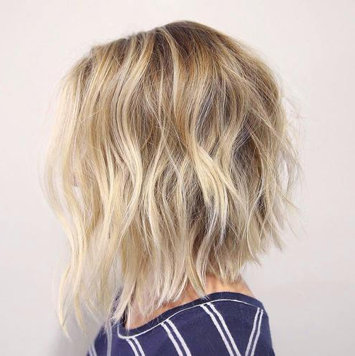 22 Amazing Bob Hairstyles For Women (Medium & Short Hair) | Styles Inside Short Wavy Blonde Balayage Bob Hairstyles (View 8 of 25)