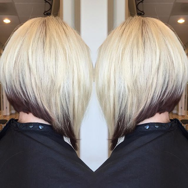 22 Amazing Layered Bob Hairstyles For 2018 You Should Not Miss Throughout Straight Cut Two Tone Bob Hairstyles (View 20 of 25)