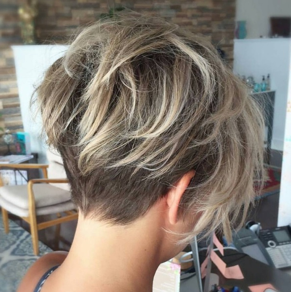 22 Amazing Long Pixie Haircuts For Women – Daily Short Hairstyles 2018 For Messy Sassy Long Pixie Haircuts (View 19 of 25)