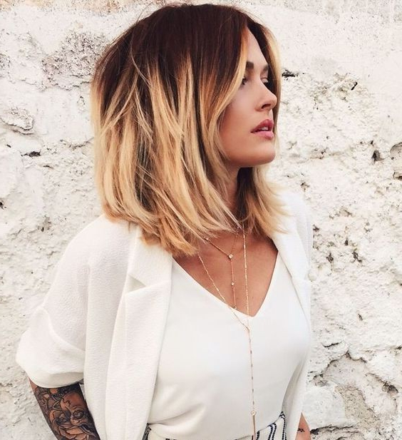 22 Best Hairstyles For Thick Hair – Sleek, Frizz Free & Contemporary Pertaining To Pretty And Sleek Hairstyles For Thick Hair (View 6 of 25)