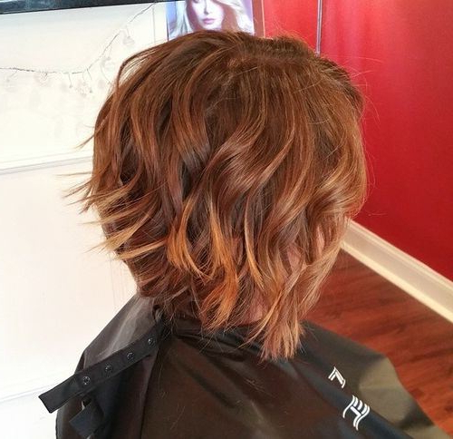 22 Hottest Inverted Bobs To Get You Inspired – Trendy Inverted Bob With Black Inverted Bob Hairstyles With Choppy Layers (View 24 of 25)