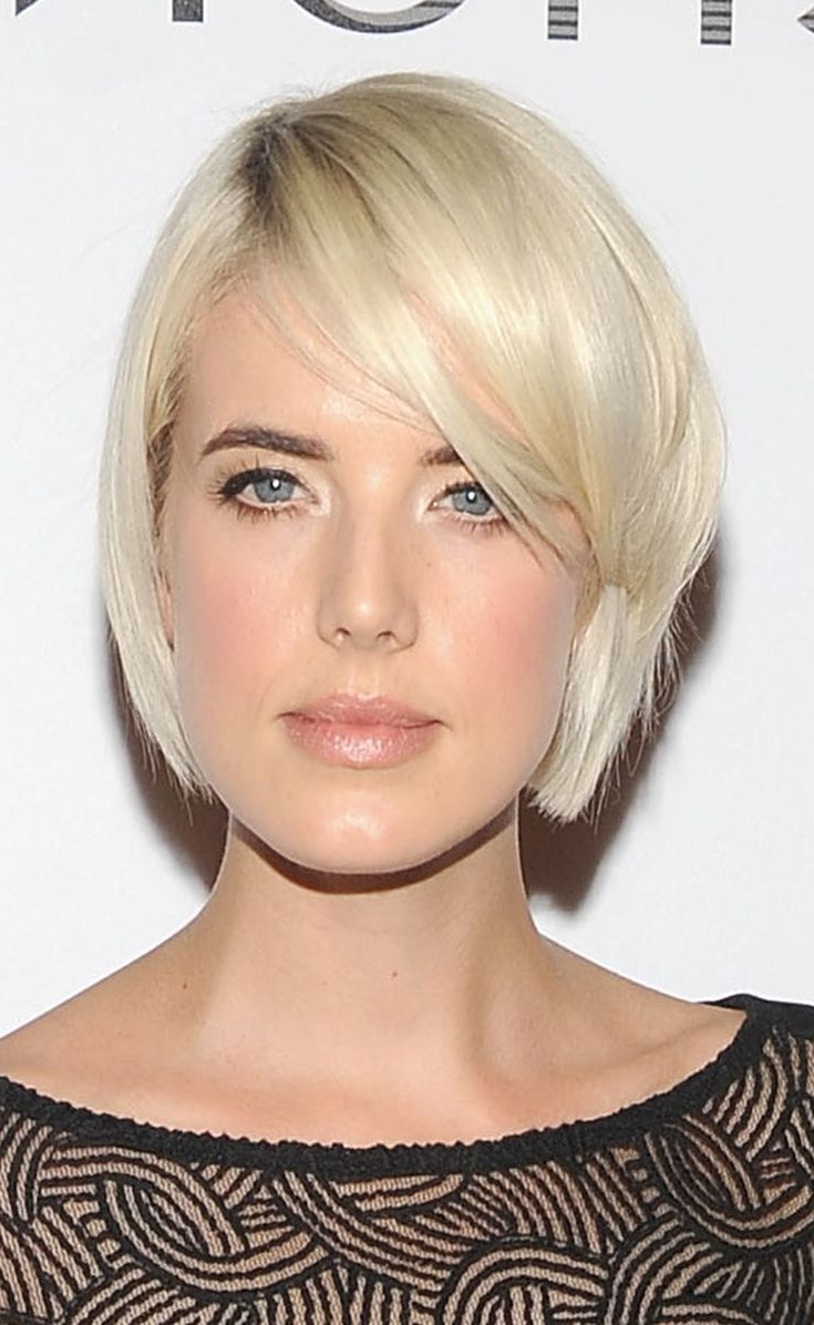 22 Inspiring Short Haircuts For Every Face Shape   New Hair In Short Haircuts For Different Face Shapes (View 21 of 25)