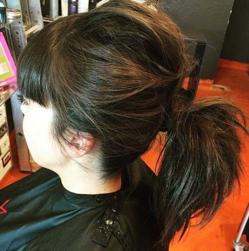 22 Pretty, Charming Ways To Style Your Ponytail: Ponytail Hairstyle Intended For Charmingly Soft Ponytail Hairstyles (View 10 of 25)