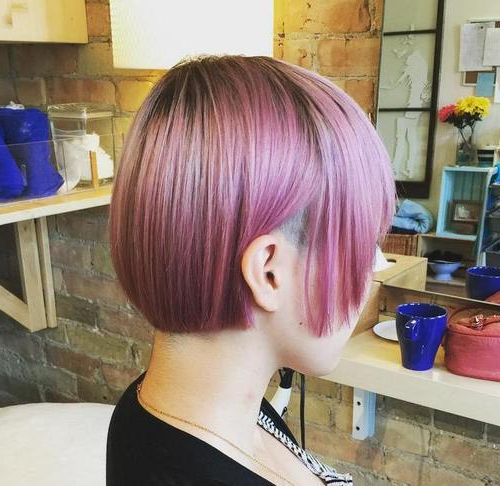 22 Sassy Purple Highlighted Hairstyles (For Short, Medium, Long Hair Within Choppy Brown And Lavender Bob Hairstyles (View 15 of 25)