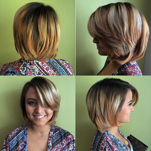 22 Stylish Lob Haircuts For A New Style: Shoulder Lenght Hair Styles With Regard To Long Disheveled Pixie Haircuts With Balayage Highlights (View 24 of 25)