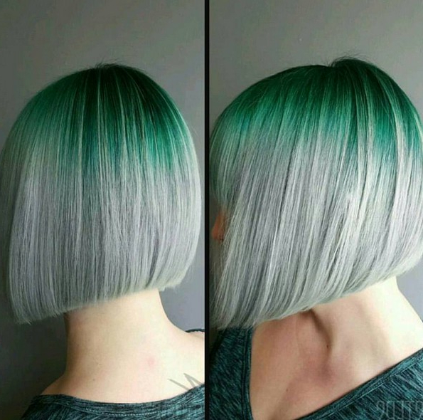 22 Trendy And Tasteful Two Tone Hairstyle You'll Love – Popular Haircuts With Straight Cut Two Tone Bob Hairstyles (View 9 of 25)