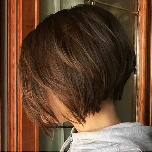 23+ Best Short Bob Hairstyles Ideas For 2017 – 2018 | Pinterest For Dynamic Tousled Blonde Bob Hairstyles With Dark Underlayer (View 21 of 25)