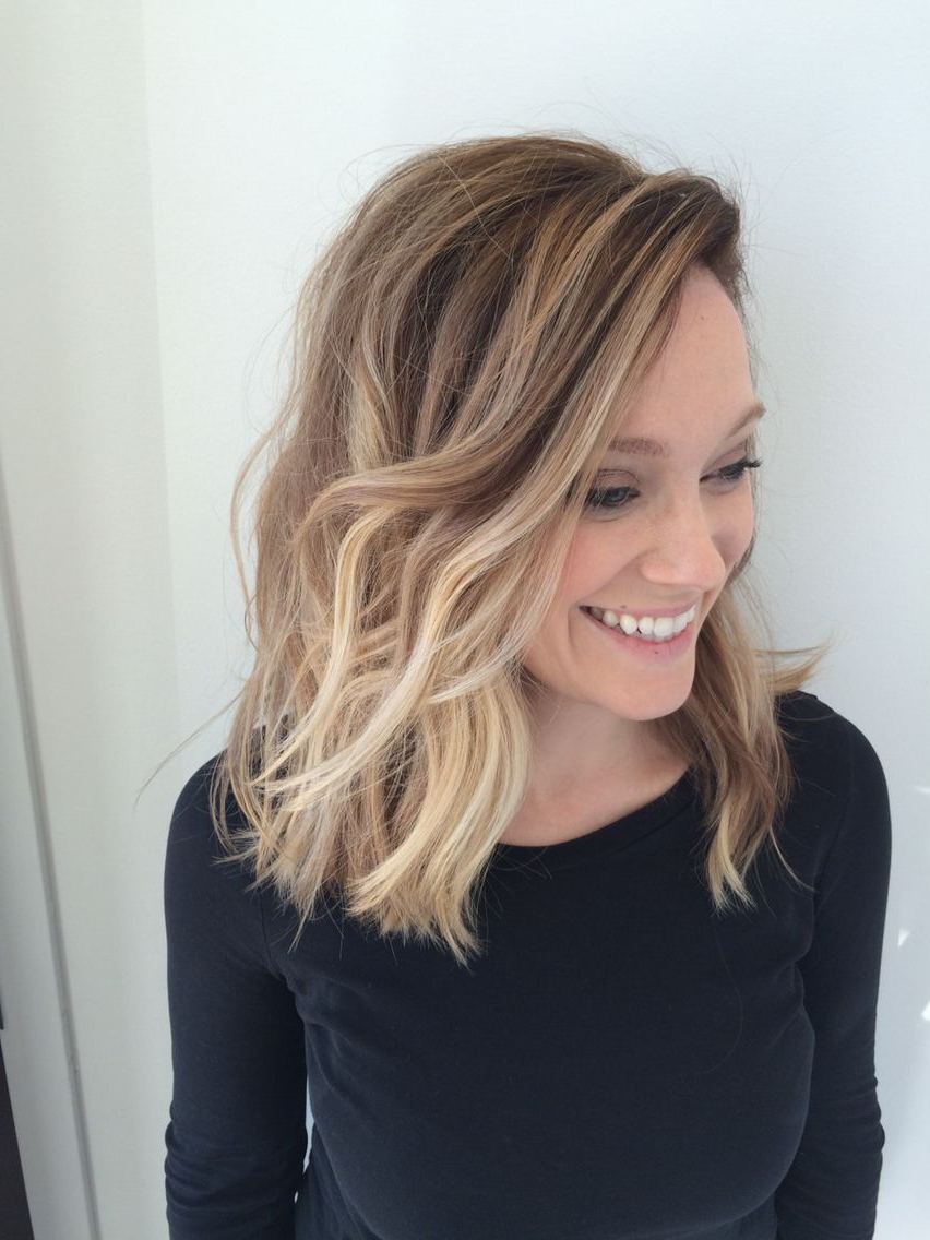 23 Cute Bob Haircuts & Styles For Thick Hair: Short, Shoulder Length intended for Side-Parted Messy Bob Hairstyles For Wavy Hair