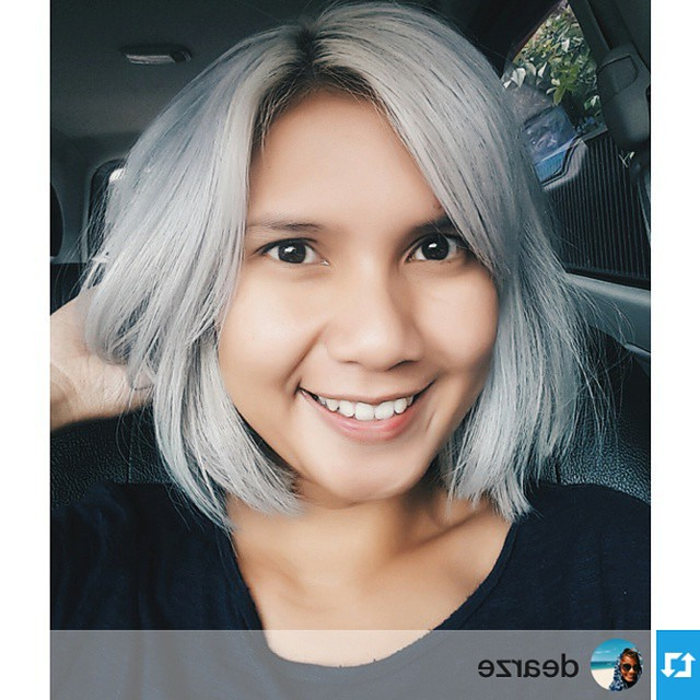 23 Cute Bob Haircuts & Styles For Thick Hair: Short, Shoulder Length Throughout Dark Blonde Rounded Jaw Length Bob Haircuts (View 19 of 25)