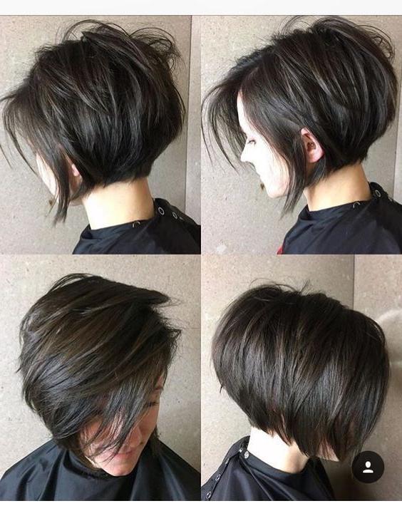 23+ Cute Pixie Bob Haircuts For Women | Short Cuts | Pinterest With High Shine Sleek Silver Pixie Bob Haircuts (View 5 of 25)