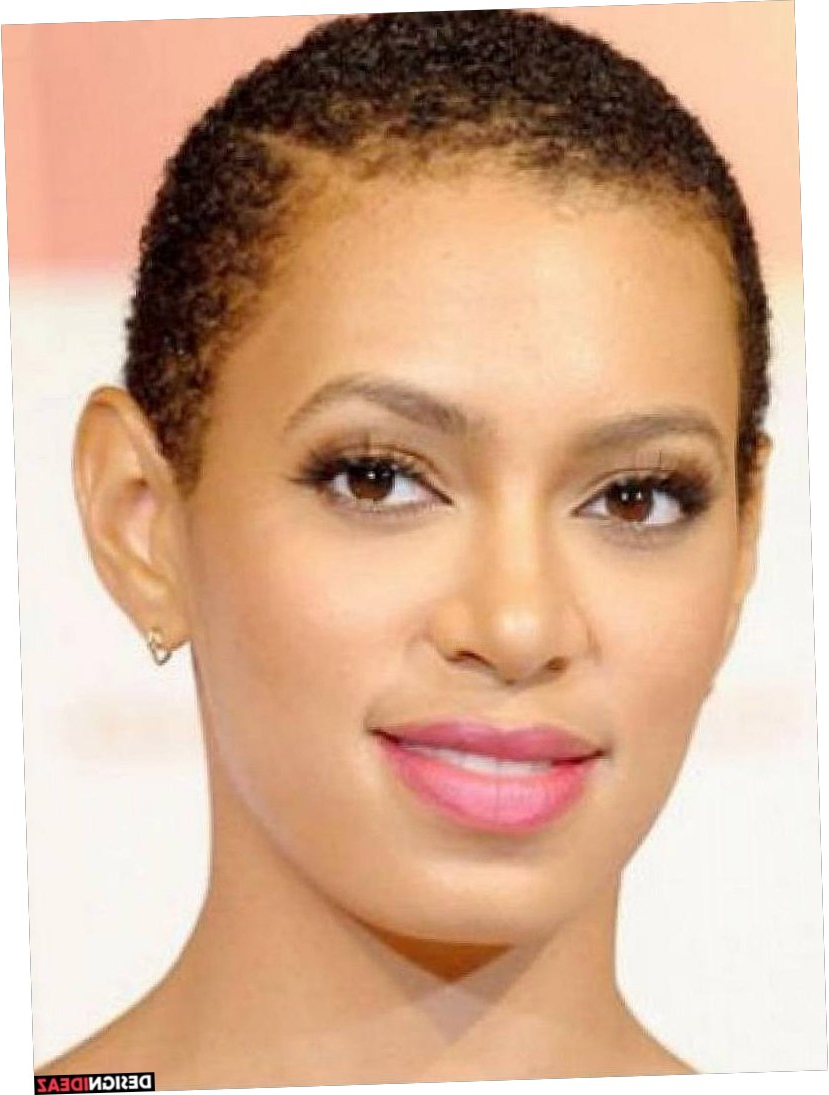 23+ Easy Short Natural Hairstyles For Black Women With Round Faces Pertaining To Natural Short Hairstyles For Round Faces (View 17 of 25)