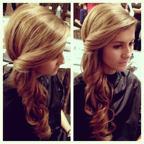 23 Fancy Hairstyles For Long Hair | Styles Weekly With Fancy Updo With A Side Ponytails (View 13 of 25)