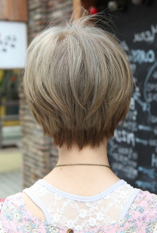 23 Great Short Haircuts For Women Over 50 | Styles Weekly In Short Bob Hairstyles With Tapered Back (View 5 of 25)