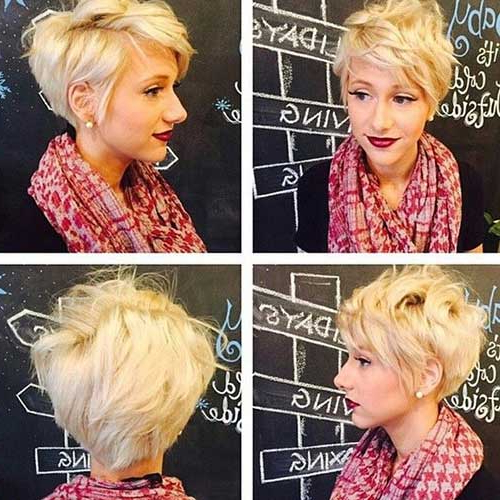 23 Long Pixie Hairstyles   Hairstyles & Haircuts 2016 – 2017 Regarding Ash Blonde Undercut Pixie Haircuts (View 25 of 25)