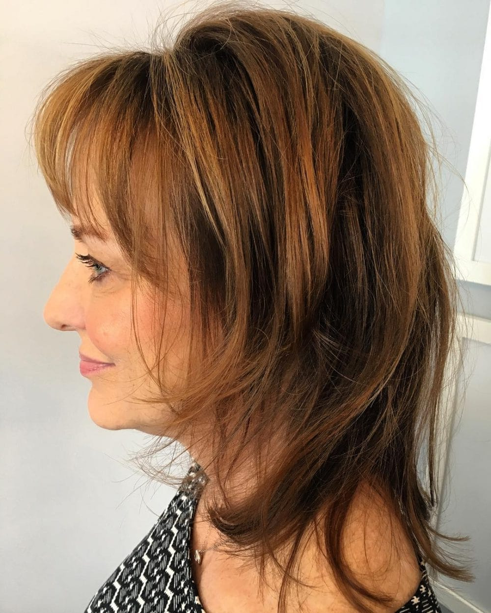 23 Modern Shag Haircuts To Try In 2018 Regarding Short To Medium Shaggy Hairstyles (View 11 of 25)