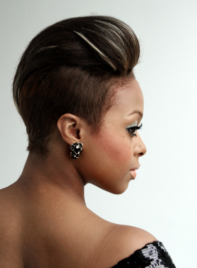 23 Must See Short Hairstyles For Black Women | Styles Weekly In Mohawk Short Hairstyles For Black Women (View 12 of 25)