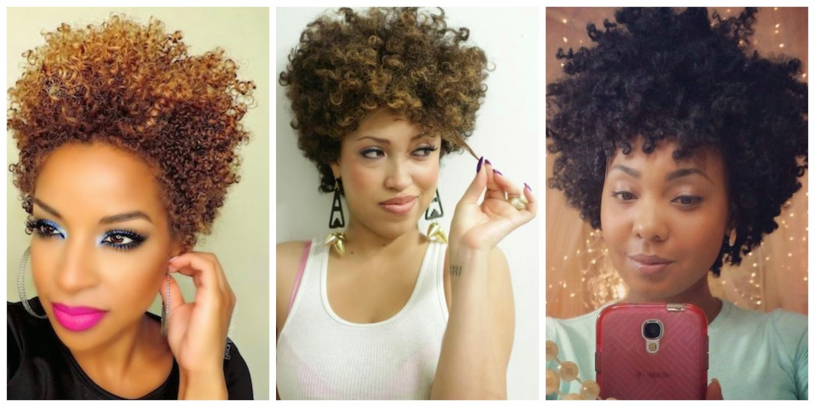 23 Must See Short Hairstyles For Black Women | Styles Weekly With Curly Black Tapered Pixie Hairstyles (View 10 of 25)