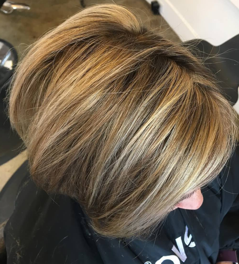 23 Perfect Hairstyles For Fine Hair In 2018 In Angelic Blonde Balayage Bob Hairstyles With Curls (View 20 of 25)