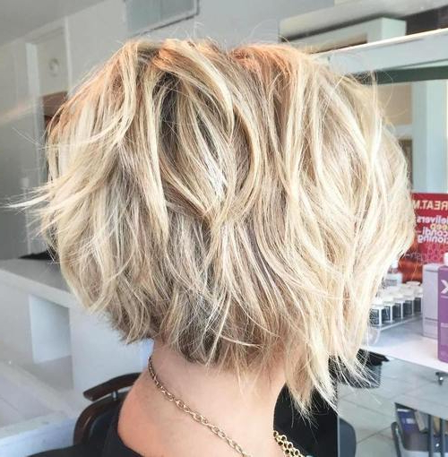 23 Pretty Bob Hairstyles For Mid Length Hair | Styles Weekly Regarding Tousled Beach Bob Hairstyles (View 8 of 25)
