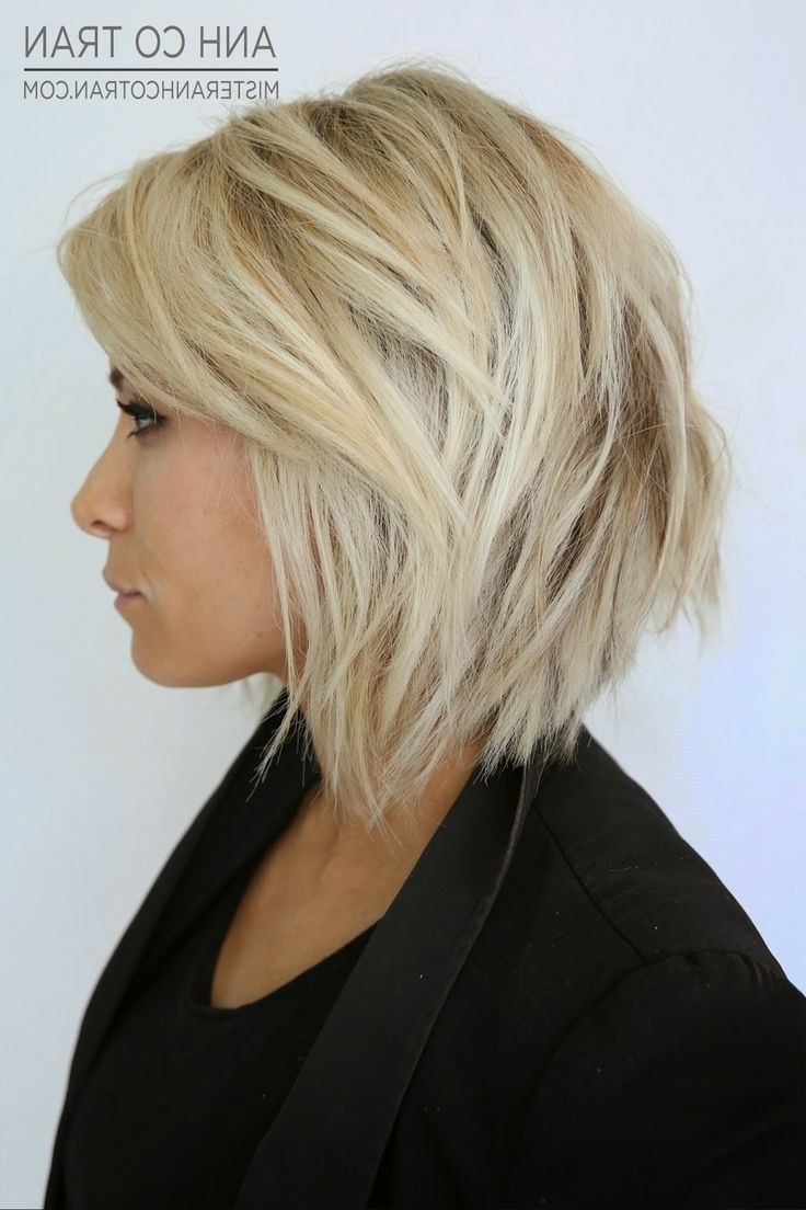23 Short Layered Haircuts Ideas For Women – Popular Haircuts Throughout Short To Mid Length Layered Hairstyles (View 7 of 25)