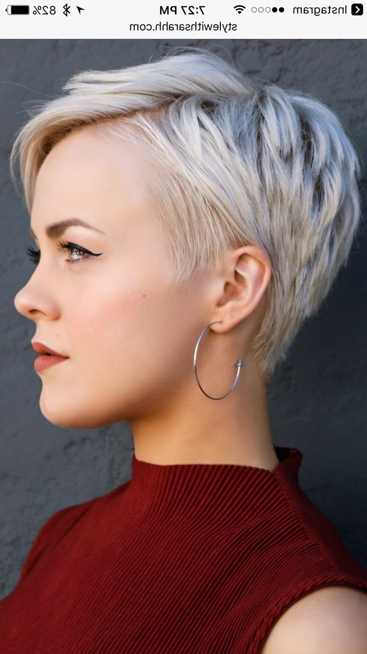 2308 Best Hair Style Short Images On Pinterest Bob Cuts Bob In Pertaining To Short Hairstyles Cut Around The Ears (View 10 of 25)