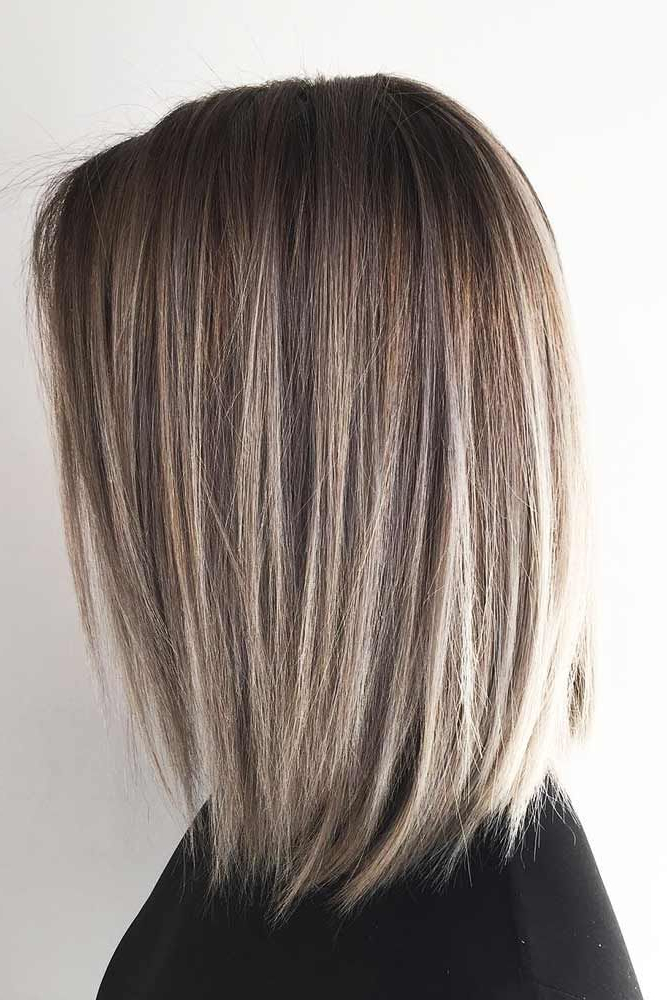 24 Amazing Ideas For Long Bob Haircuts | Hair And Fashion Pertaining To Stunning Poker Straight Bob Hairstyles (View 12 of 25)