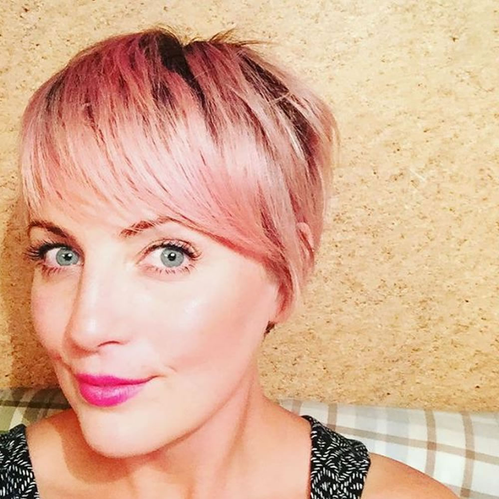 24 Chic Highlights For Short Hair – Pastel Hair Colors For 2018 2019 Inside Pink Short Haircuts (View 20 of 25)