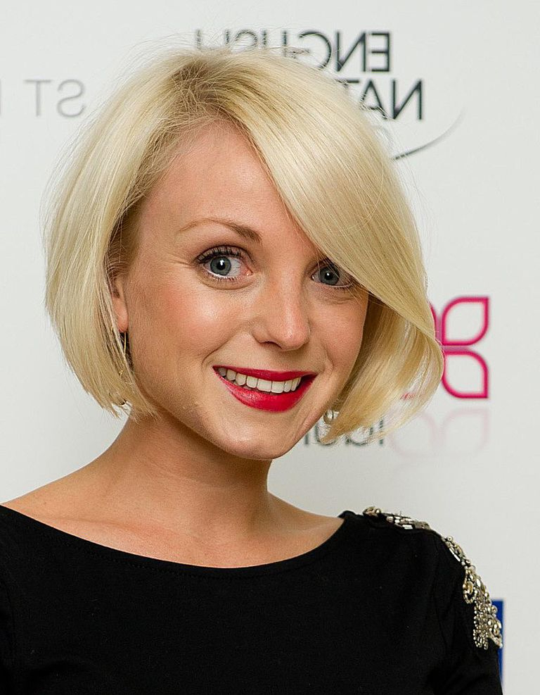 24 Hottest Bob Haircuts For Every Hair Type Inside Frizzy Razored White Blonde Bob Haircuts (View 20 of 25)