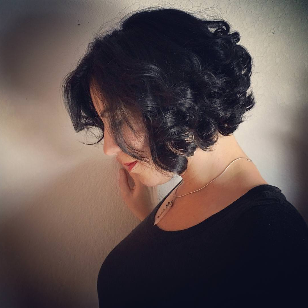 24+ Stacked Bob Haircut Ideas, Designs | Hairstyles | Design Trends Regarding Stacked Curly Bob Hairstyles (View 14 of 25)