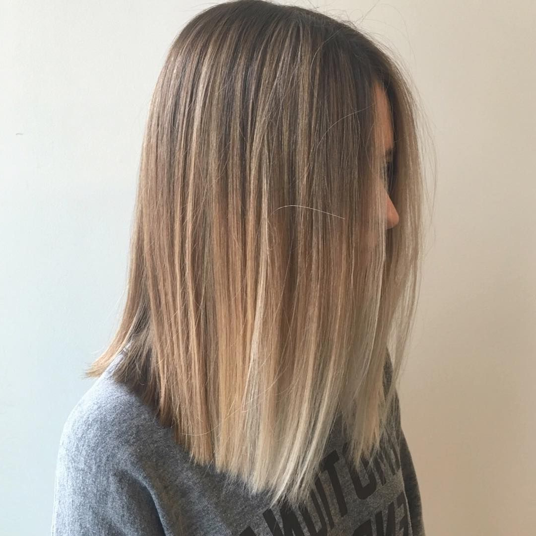 25 Alluring Straight Hairstyles For 2018 (Short, Medium & Long Hair Throughout Short To Mid Length Hairstyles (View 23 of 25)