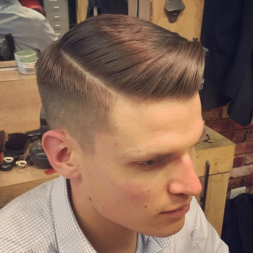 25 Best Side Part Hairstyles + Parted Haircuts For Men (2018 Update) Intended For Short Haircuts With Side Part (View 5 of 25)