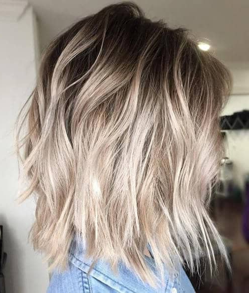 25 Blonde Balayage Short Hair Looks You'll Love Intended For High Contrast Blonde Balayage Bob Hairstyles (View 12 of 25)