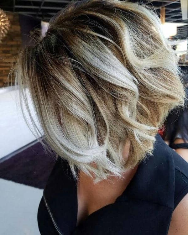 25 Blonde Balayage Short Hair Looks You'll Love With Regard To High Contrast Blonde Balayage Bob Hairstyles (View 23 of 25)