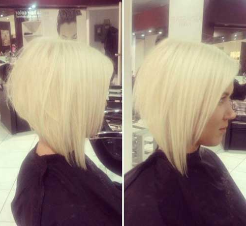 25 Bob Hairstyles For 2014 – 2015 | Bob Hairstyles 2018 – Short Pertaining To Short Blonde Inverted Bob Haircuts (View 24 of 25)