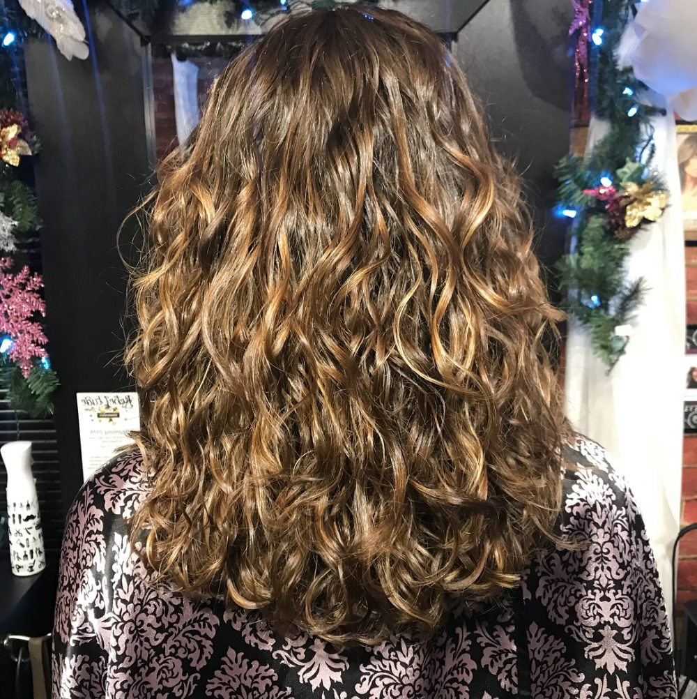 25 Cutest Long Curly Hair Ideas Of 2018 Pertaining To Natural Textured Curly Hairstyles (View 23 of 25)