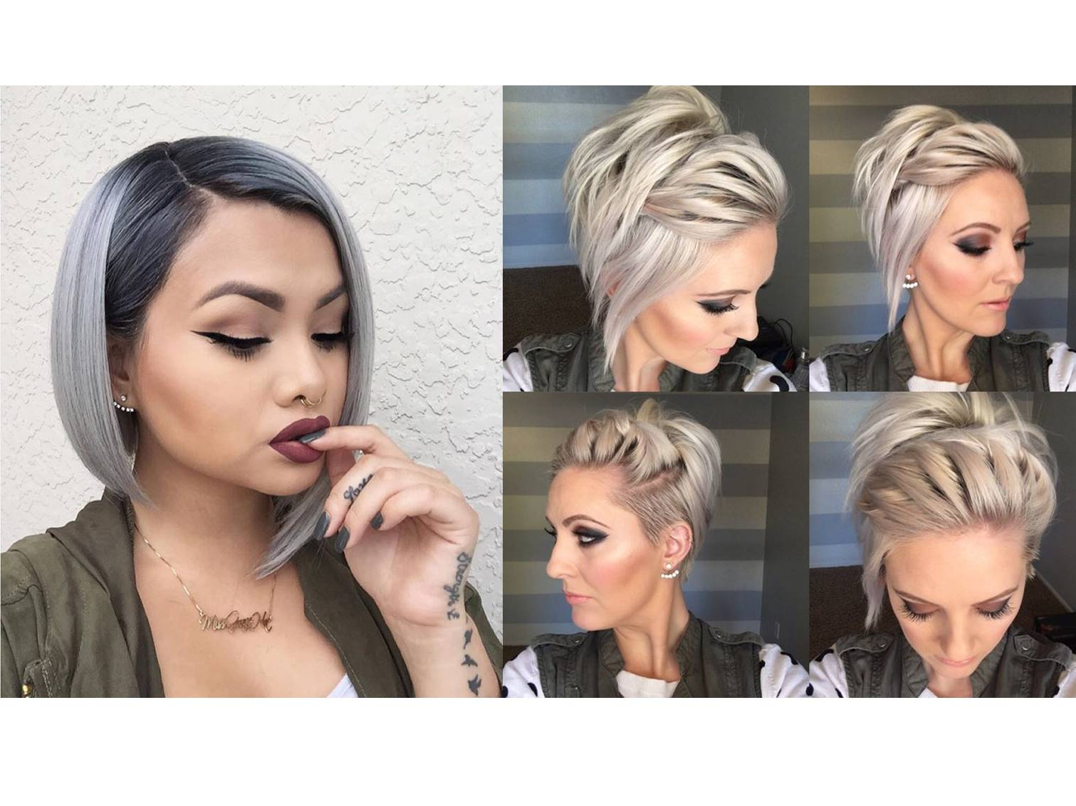 25 Easy Holiday Hairstyles For Short Hair  Cute Hair | Faces Of Ony Pertaining To Cute Hairstyles With Short Hair (View 14 of 25)