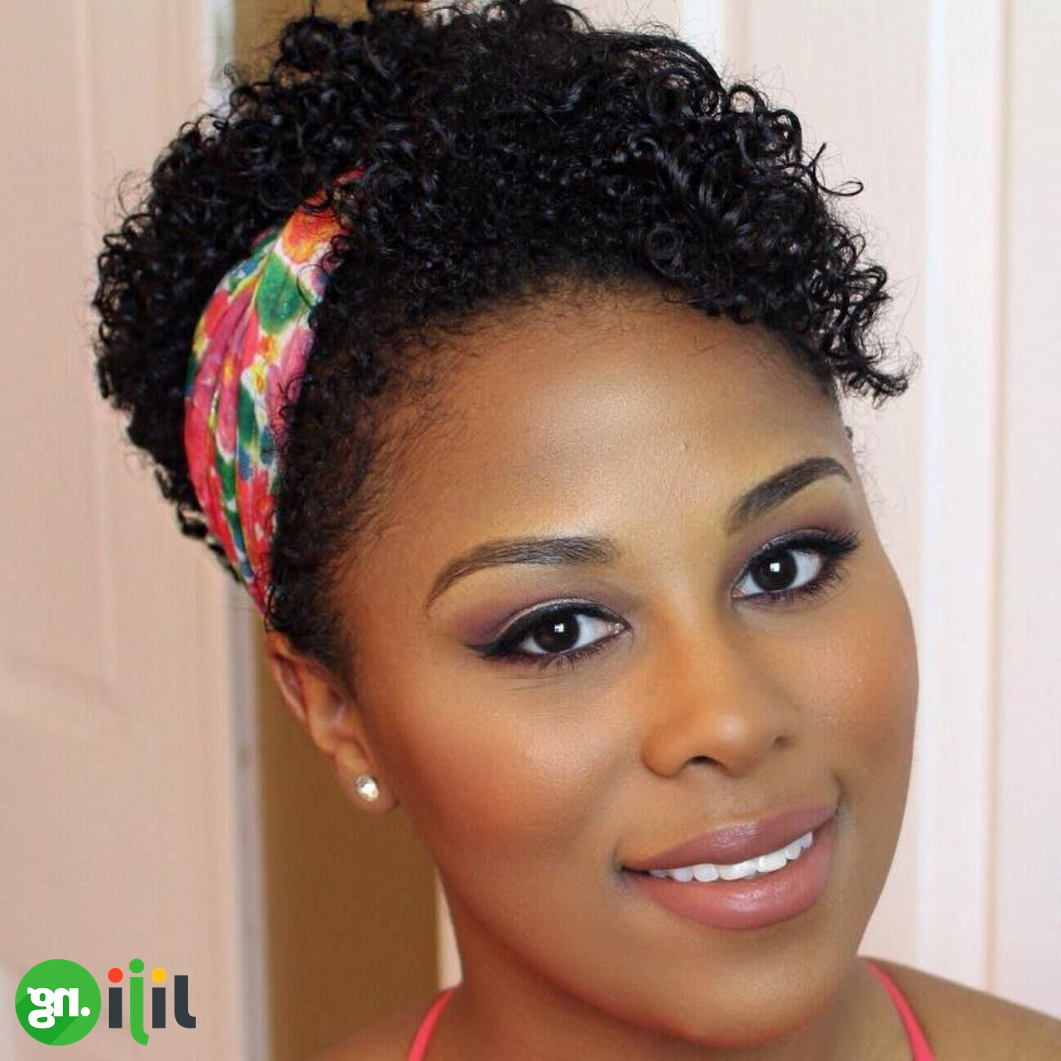 25 Easy Natural Hairstyles For Short Hair | Jiji (View 20 of 25)