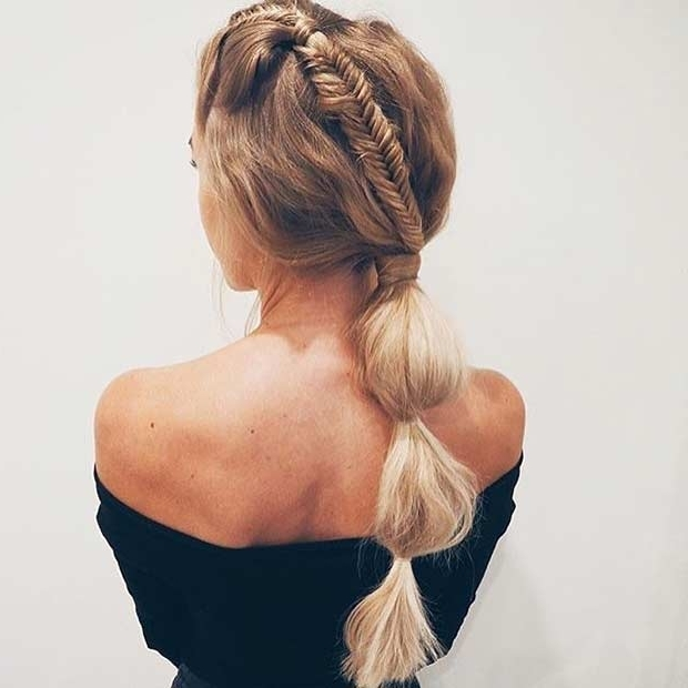 25 Elegant Ponytail Hairstyles For Special Occasions | Stayglam Intended For Long Elegant Ponytail Hairstyles (View 8 of 25)