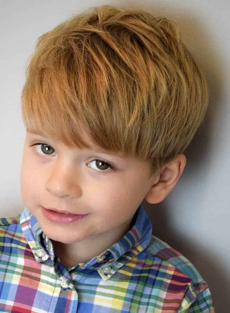 25+ Excellent School Haircuts For Boys + Styling Tips Inside One Sided Short Hairstyles (View 8 of 25)