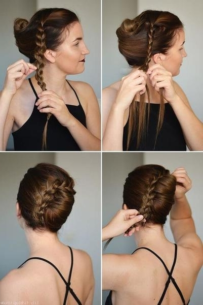 25 Fabulous French Twist Updos: Stunning Hairstyles With Twists With Regard To Twisted Retro Ponytail Updo Hairstyles (View 20 of 25)