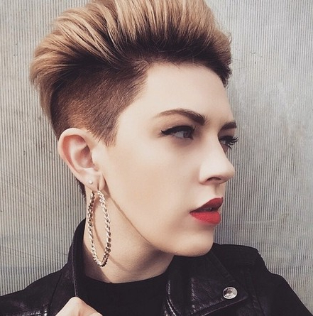 25 Fabulous Short Spikey Hairstyles For Women And Girls – Popular Inside Short Spiked Haircuts (View 17 of 25)