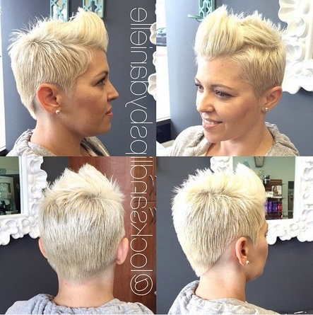 25 Fabulous Short Spikey Hairstyles For Women And Girls – Popular Within Short Spiked Haircuts (View 20 of 25)