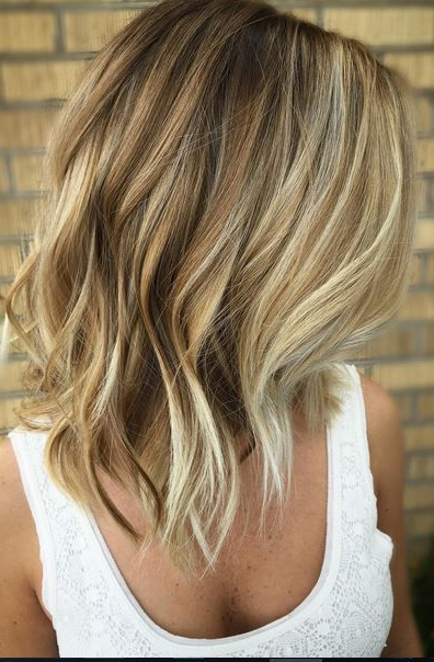 25 Fantastic Easy Medium Haircuts 2018 – Shoulder Length Hairstyles Pertaining To Balayage Bob Haircuts With Layers (View 8 of 25)
