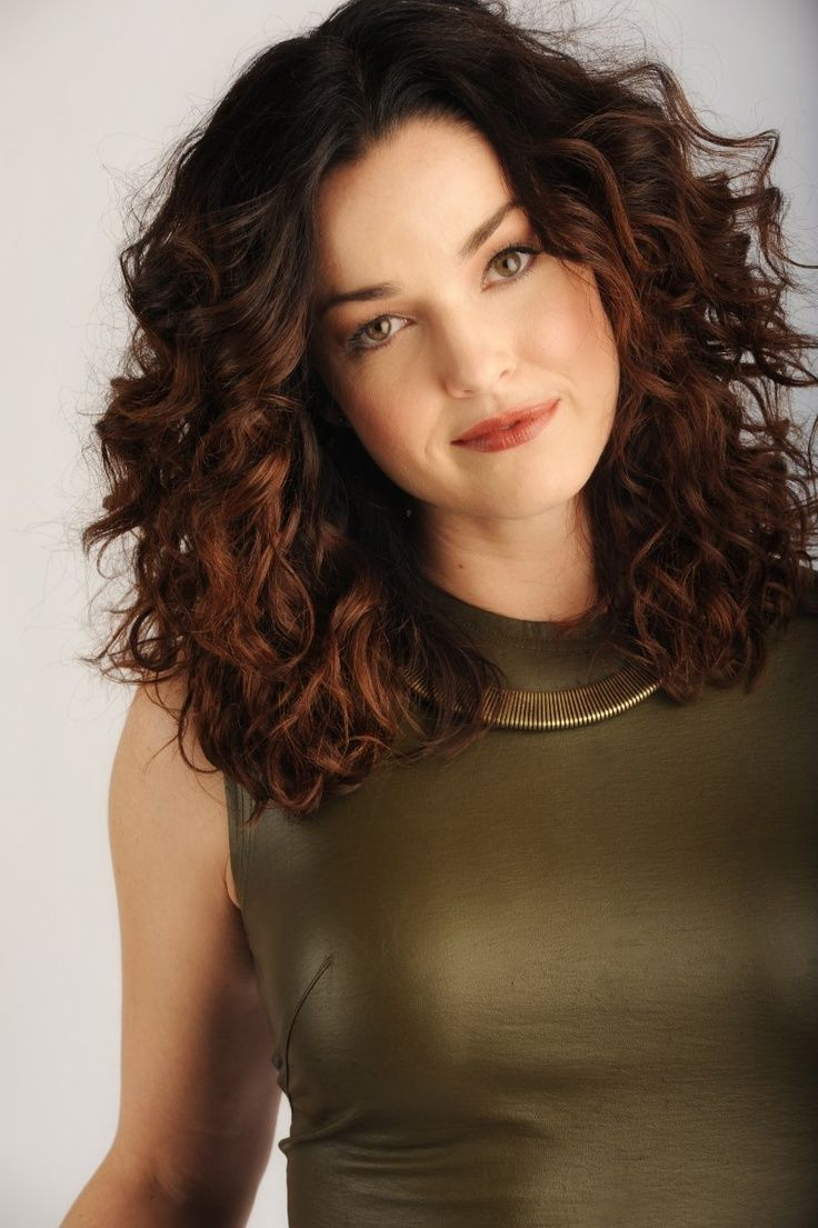 25 Medium Length Curly Hairstyles For Womens | Hair & Beauty Inside Short Haircuts For Thick Curly Frizzy Hair (View 12 of 25)