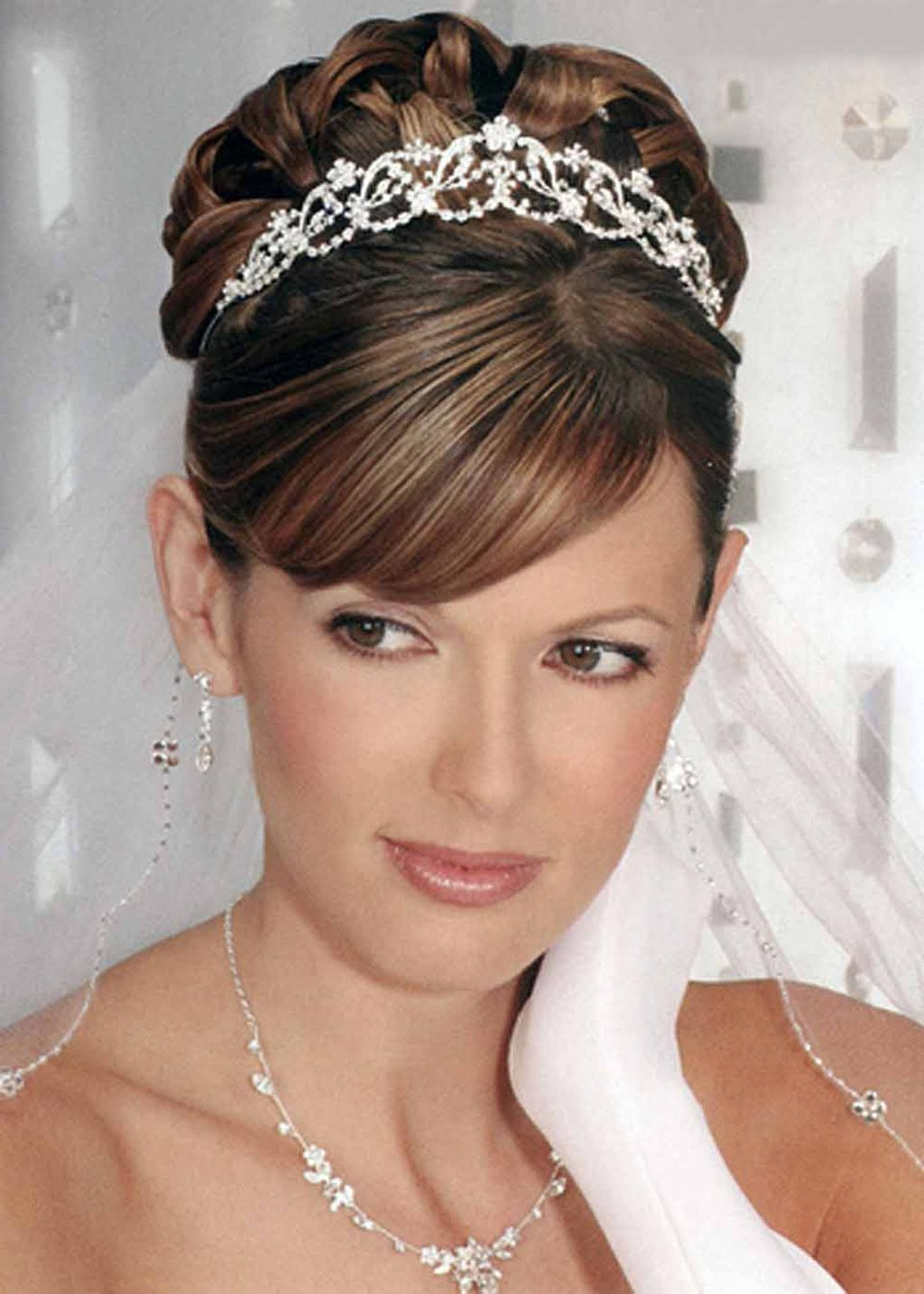 25 Most Favorite Wedding Hairstyles For Short Hair – The Xerxes Pertaining To Brides Hairstyles For Short Hair (View 16 of 25)