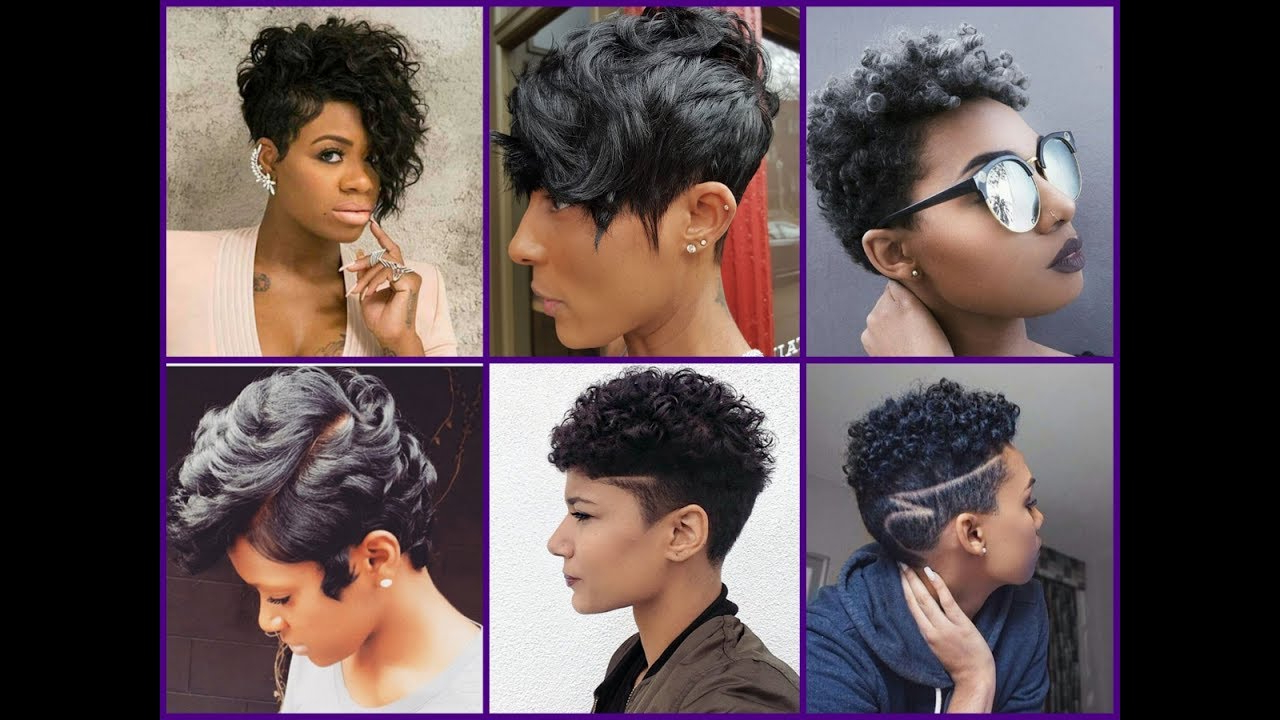 25 New Short Haircuts For Black Women – Trendy Haircuts For African Intended For Mohawk Short Hairstyles For Black Women (View 21 of 25)