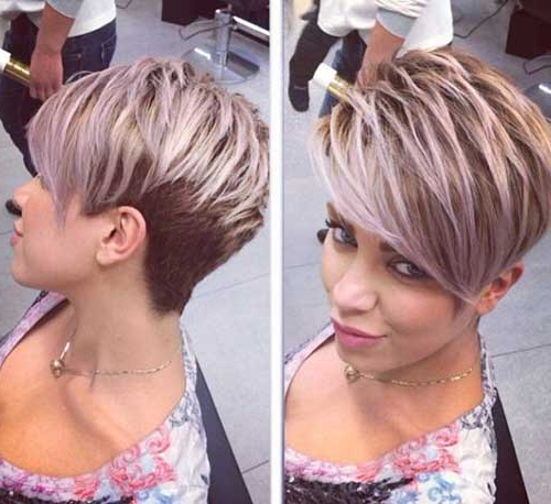 Gallery Of Edgy Pixie Haircuts For Fine Hair View 10 Of 25 Photos