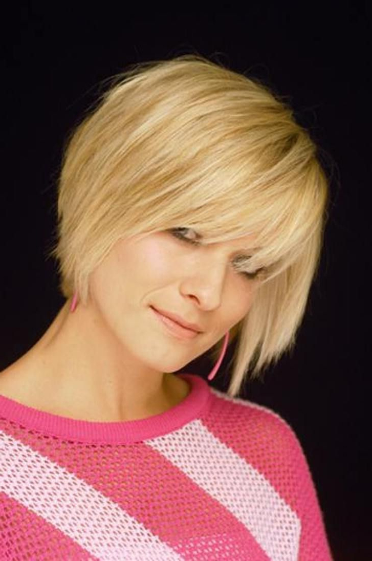 25 Short Hairstyles For Heart Shaped Faces | Beauty Help | Pinterest Regarding Short Hairstyles For Heart Shaped Faces (View 18 of 25)