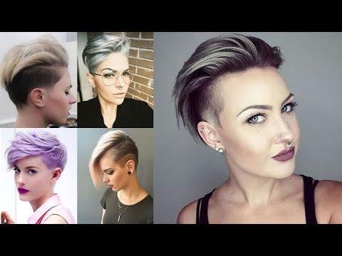 25 Short Hairstyles For Women Pixie, Bob, Undercut Hair In 2018 With Sweeping Pixie Hairstyles With Undercut (View 22 of 25)
