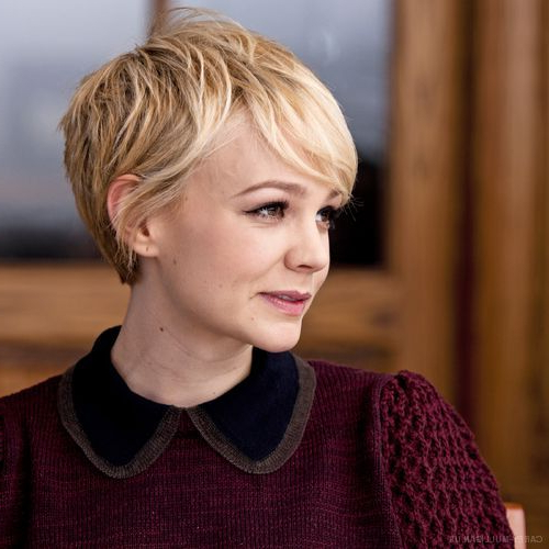 25 Simple Easy Pixie Haircuts For Round Faces – Short Hairstyles Pertaining To Rounded Pixie Bob Haircuts With Blonde Balayage (View 20 of 25)